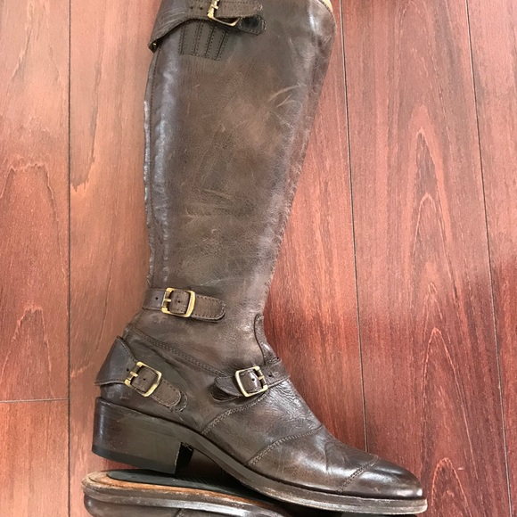 sabiduría ajo amplificación  Belstaff Shoes | Trialmaster Leather Boots By 39 Womens | Poshmark